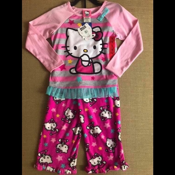 NWT Hello Kitty Pajama Set Size 6 4608614bc